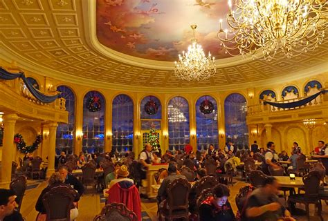 Be Our Guest Dining Rooms  Inside Be Our Guest Restaurant