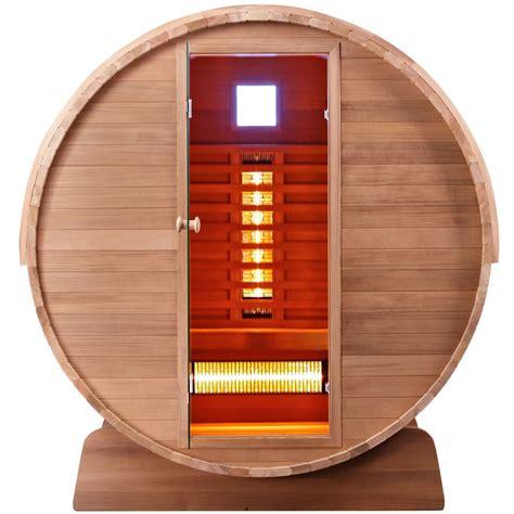 Infrared Outdoor Sauna Model Seattle Nordkap Living