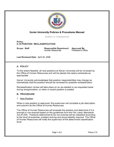 Human Resources Policies And Procedures Template Choice Image - Hr policy and procedure manual template