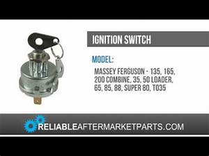 883928m1 New Massey Ferguson Tractor Ignition Switch 135