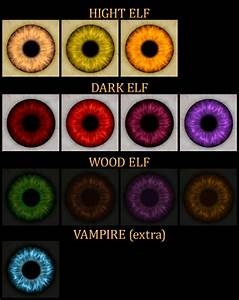Improved Human And Elf Eyes At Skyrim Nexus