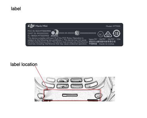 upcoming dji mavic mini drone registered   fcc