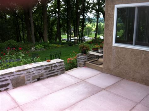 concrete patio estimate modern patio outdoor