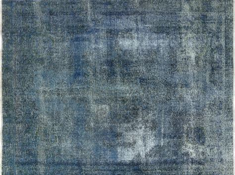 moroccan area rugs sale 9x11 handmade knotted overdyed blue floral