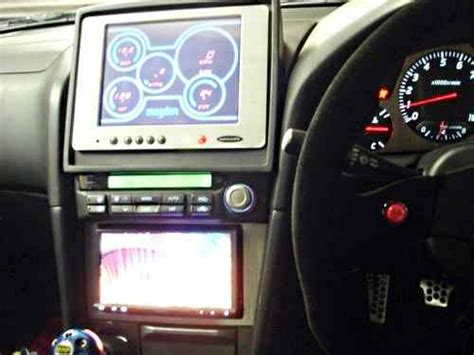 paul walkers nissan skyline gt  interior photo gauges