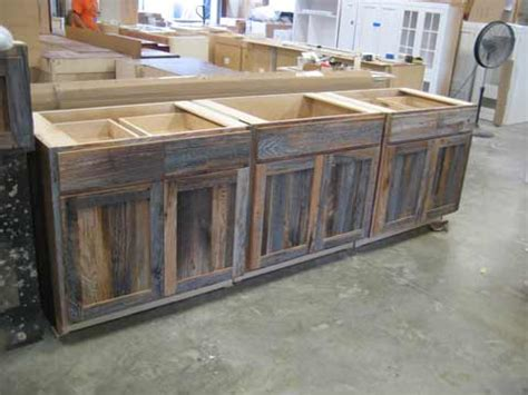kitchen cabinets made from barn wood barnwood kitchen cabinets benedict antique lumber and 9164