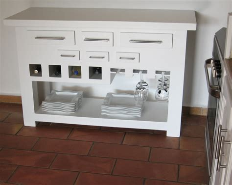 console pour cuisine la fabrication de meuble en par mariekrtonne