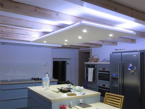 eclairage de cuisine led ruban decoratif downlight eclairage led cuisine salon