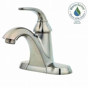 pfister pasadena 4 in centerset single handle bathroom With pfister pasadena bathroom faucet