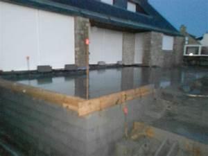 faire une terrasse beton faire une terrasse en beton With epaisseur dalle beton terrasse