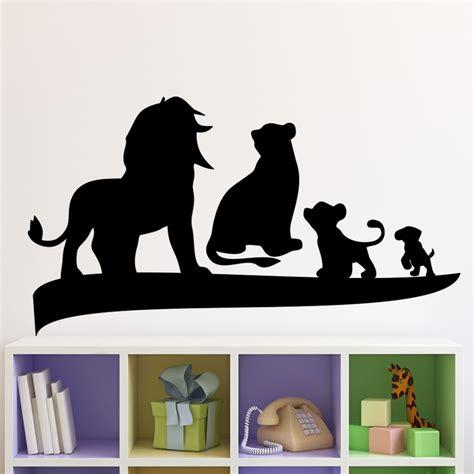 sticker le roi et sa famille stickers animaux animaux d afrique ambiance sticker