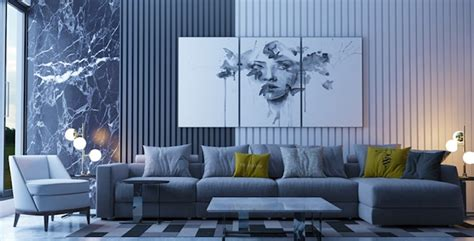 wohnzimmer wei grau blau parsvendingcom