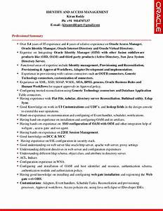 identity and access management resume With identity and access management resume examples