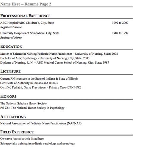 Resume For Pediatric Er by Hairstyle Sler