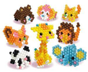 aqua beads art  set   solid hits  aq