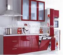 High Gloss Spray Paint For Kitchen Cabinets by Red Lacquer High Gloss Kitchen Cabinet For Sale Buy High Gloss Finish Kitch