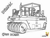 Coloring Pages Construction Roller Vehicle Road Paver Dynapac Yescoloring Tractors Farm Coolest Highway Forestry Rugged Excavators sketch template