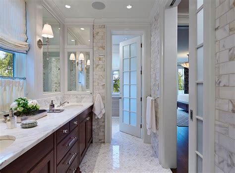 Herringbone Bathroom Floor Tiles  Amazing Orange