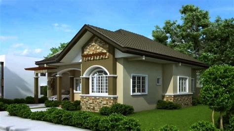 one level house plans with porch bungalow modern house plans and prices modern house plan