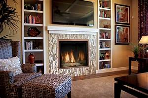 Wall fireplace with tv modern corner gas designs