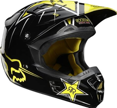 motocross helmets cheap 2012 fox v1 rockstar youth motocross helmet youth large
