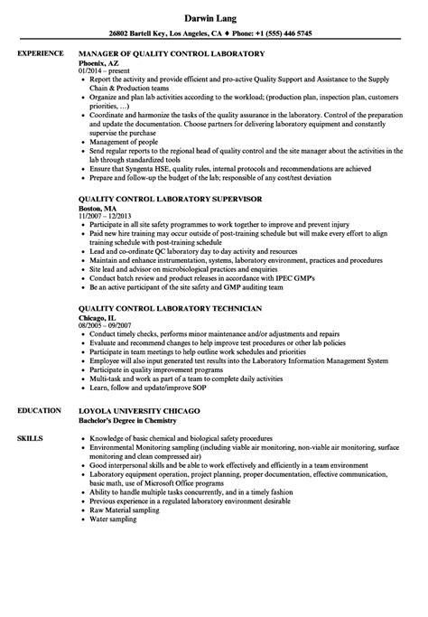 quality laboratory resume sles velvet
