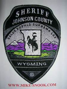 Mike Snook's Police Patch Collection - State of WYOMING