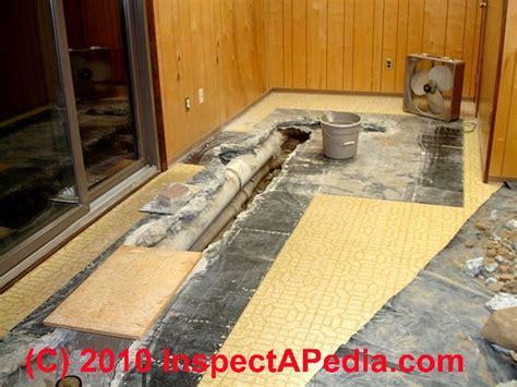 cast iron drain piping  floor leak diagnosis repair