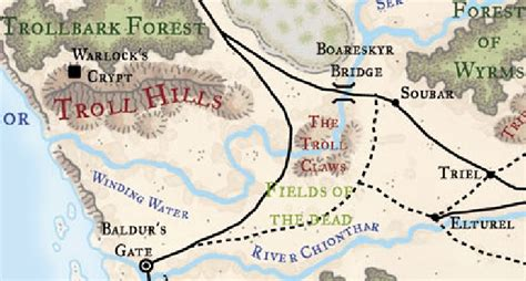 troll hills forgotten realms wiki fandom powered  wikia