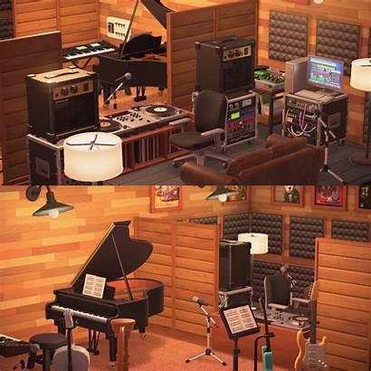 Studio Recording Basement Animal Crossing Created Recreate