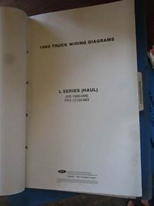1988 Ford L Series Haul Truck Wiring Diagrams Service Shop