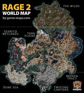 Rage 2 Maps  U0026 Game Guide