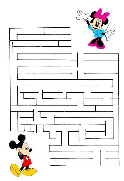Printable Mazes  Mickey's Corner At Disney's World Of Wonders  Mermaid Party Pinterest