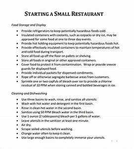 5 free restaurant business plan templates excel pdf formats With how to make a business plan for a restaurant template