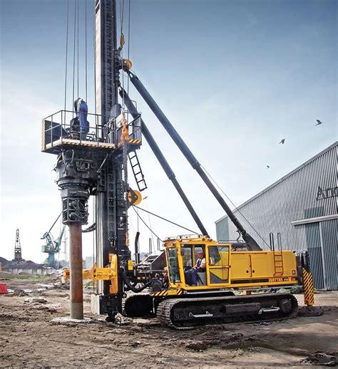 pile driving rigs equipments junttan