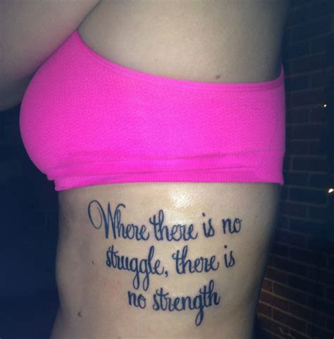 quote tattoo   ribs tattoo quotes quote tattoos