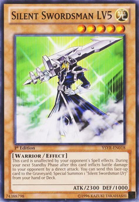 Silent Magician Deck Yugioh by Yugioh Silent Swordsman Lv4