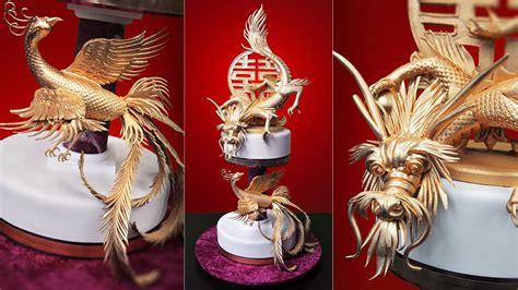 dragon  phoenix cake yeners