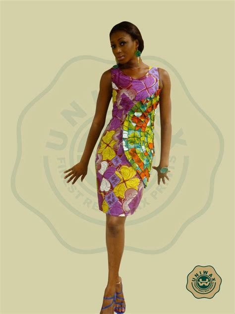 Robe Pagne Africain Coco Shine Mode Le Pagne Africain Cousus Dans Un Style Moderne