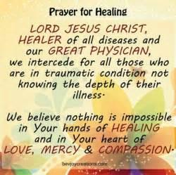 Catholic Healing Prayers