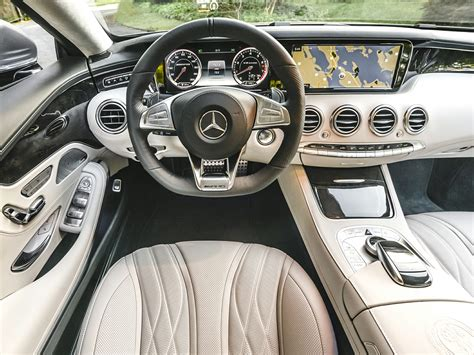 We immediately stepped from the s into a glc, and while the quality of the leather, switchgear and layout naturally catch your eye, what really highlights the difference in interior quality between the s coupe and a 'normal' merc is the clickwheel. 2016 Mercedes-Benz AMG S - Price, Photos, Reviews & Features