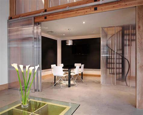 mur en verre interieur porte int 233 rieure vitr 233 e et sa place dans le design int 233 rieur d une maison moderne design feria