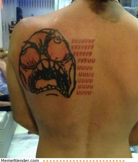 Tattoo Memes - 20 extremely permanent meme tattoos smosh
