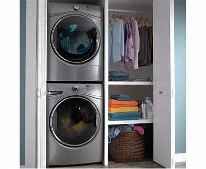 Washer Whirlpool Dryer Load Laundry Stackable Duet