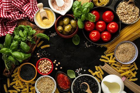 Tasty food ingredients for cooking ~ Food Images