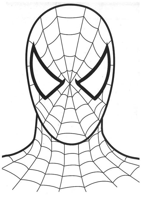 Spiderman Coloring Pages  Coloring Pages To Print