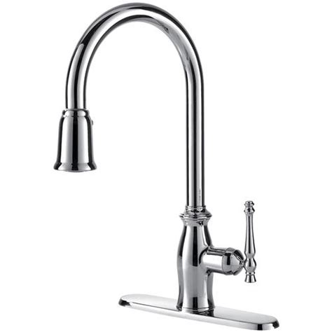 fontaine kitchen faucet fontaine by italia giordana pull down kitchen faucet at menards 174