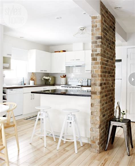 ideas for kitchen walls traditional kitchen with brick walls 2013 ideas modern furniture deocor