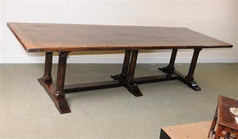 large italian refectory table beach wood farmhouse kitchen