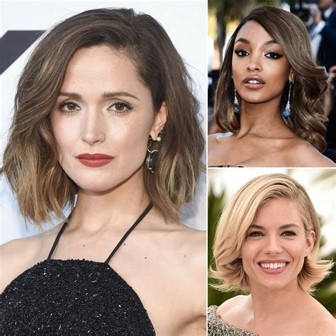 Best Bob Haircuts For All Hair Types Celebrity Photos